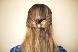 creare un fiocco con i capelli