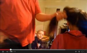 coda capelli aspirapolvere